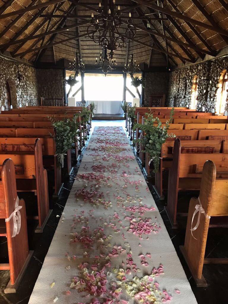 Interior of the Stone Chapel | Rain Farm