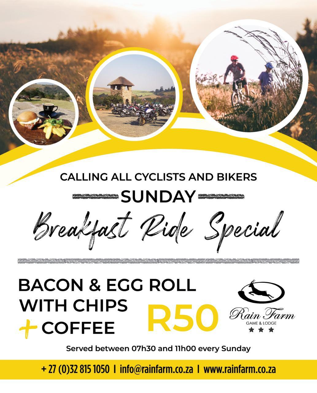 Breakfast Ride Special